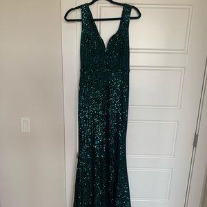 Lulus Glam Sequin Maxi Dress